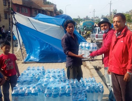 Water Distribution in Kathmandu Continues